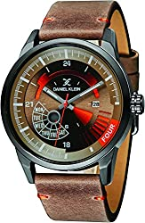 Daniel Klein Analog Brown Dial Mens Watch-DK11298-3