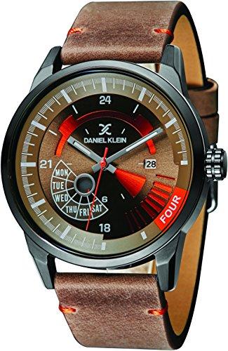 Daniel Klein Analog Brown Dial Men's Watch - DK11298-3