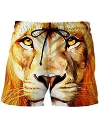 Ocean Plus Hombre Corto Bañador 3D Print Gráficos Verano Bañador Playa Pantalones Cortos Pantalones Cortos De