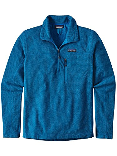 Patagonia Oakes 1/4 Zip Pullover Men - Fleecepullover Andes Blue