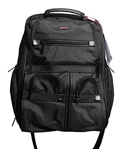 Promate Voyage Compact Travel Backpack Fits Lenovo Ideapad, Sony Fit and Vaio F/E Series, HP Pavillion Touch Smart-Series, Envy Touch, Apple Macbrook Pro and Air, Asus Zenbook, Acer Aspire, Dell Inspiron, Samsung Series 7 and Suitable For all other Laptops 15.6