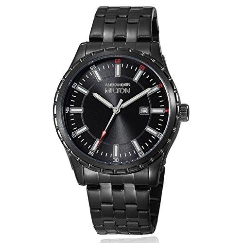 ALEXANDER MILTON - montre homme - KRONOS, noir