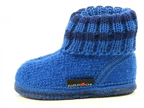 Haflinger Paul, Chaussons mixte enfant Blau