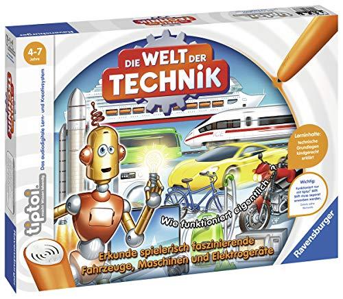 Ravensburger tiptoi 00837 - Spiel: Die Welt der Technik
