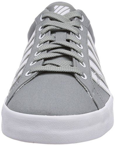 K-Swiss BELMONT SO T, Sneakers basses homme Gris - Grau (NEUTRAL GRAY/WHITE 047)