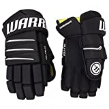Warrior Alpha QX5 Handschuhe Youth(Bambini), Größe:8 Zoll;Farbe:schwarz