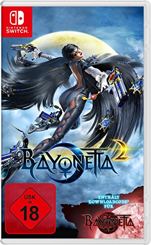 Bayonetta 2 inkl. Bayonetta 1 Download Code [Nintendo Switch] (Slasher Kostüm)