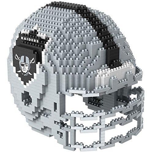 3d Raiders Puzzle (Oakland Raiders NFL Football Team 3D BRXLZ Helm Helmet Puzzle)