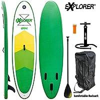 Explorer Sup Raider 300 x 75 x 10 cm Inflatable ISUP hinchable de aluminio Remo Stand