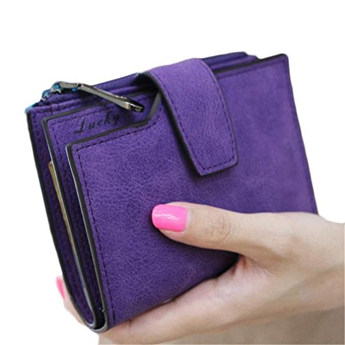 kolylong-women-mini-grind-magic-bifold-leather-wallet-card-holder-purse-purple