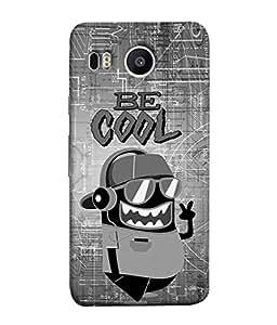 PrintVisa Designer Back Case Cover for LG Google Nexus 5X (New) (Be Cool with enjoying music )