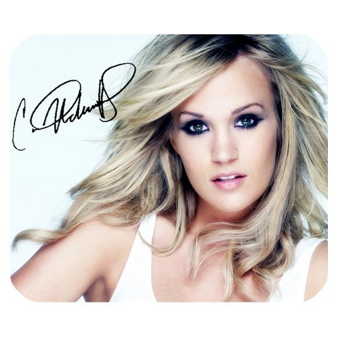 Carrie Underwood Custom Mouse Pad Gaming Rectangle Mousepad MPD-385