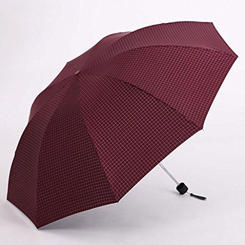 Regenschirm Sonnenschirme Regenschutz - Anti-UV - Taschenschirm - Ultraleicht (Gewicht: 365g) - Super Mini (Faltlänge: 25.5cm) - perfekt schützend (Starke UV-Beständigkeit: UPF50 +) ( Farbe : 2# )