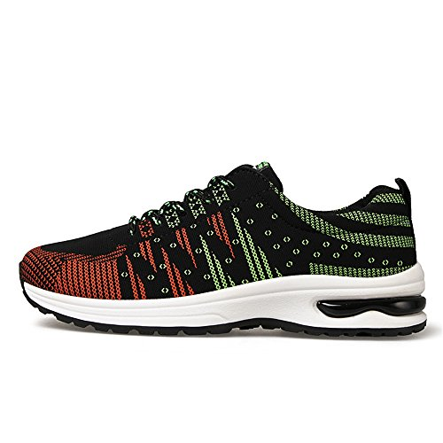 Scarpe Uomo Sportive Running Sneakers Fitness Interior Casual all'Aperto 39-44 Verde