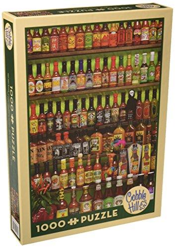 Cobble Hill 51723 - Hot Hot Sauce - Puzzle 1.000 Teile