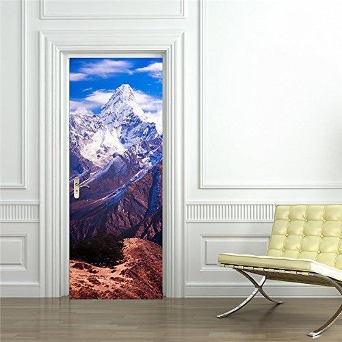 d-Szene Nepal-Schnee-Berge personifizierten Hauptdekor-Wand-Dekoration2018 Heißer Verkauf-034-size: 77cm * 200cm ()