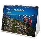 Wanderzauber · DIN A5 · Premium Tischkalender/Kalender 2019 · Sport · Wanderung · wandern · Ausrüstung · Gipfel · Gebirge · alpin · Besteigung · Edition Seelenzauber