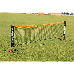 Carrington Tennisnetz in 3 m oder 6 m – Fussballtennis – Mobil – Inkl. Tragetasche – extrem Leichter Aufbau – WETTERFEST