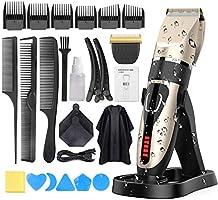 Tondeuse Cheveux Hommes, Oudekay Professionnelle Tondeuse IPX7 Imperméable Tondeuse à Cheveux Sans Fil Tondeuse Cheveux...