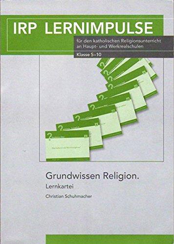Grundwissen Religion: Lernkartei (IRP Lernimpulse)
