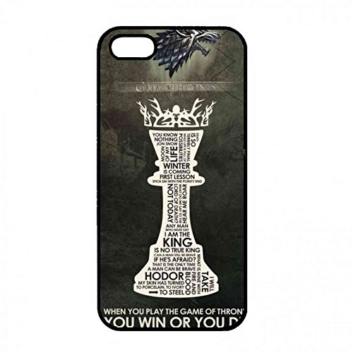 Coque Game Of Thrones You Win Or You Die Back Carrier,Coque Iphone 5 5S Coque Carrier Color075