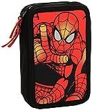 Kit Escolar Spiderman Marvel School Supply Caso Caja de lápices lápiz 43 Piezas