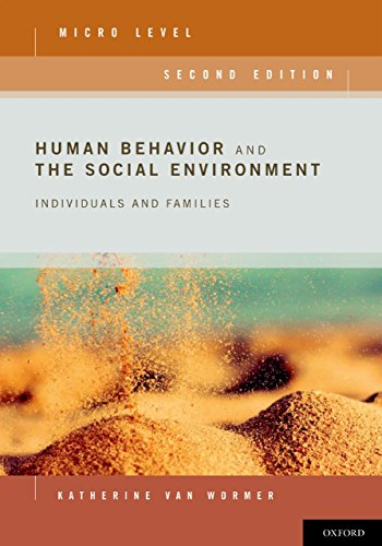Human Behavior and the Social Environment, Micro Level: Individuals and Families por Katherine van Wormer