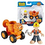Bob der Baumeister - Die Cast Fahrzeug Baumaschine Mixi & Spielfigur Bob