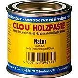 Clou Holzpaste 150g Holzkitt Holzreparatur Farbe: Nussbaum