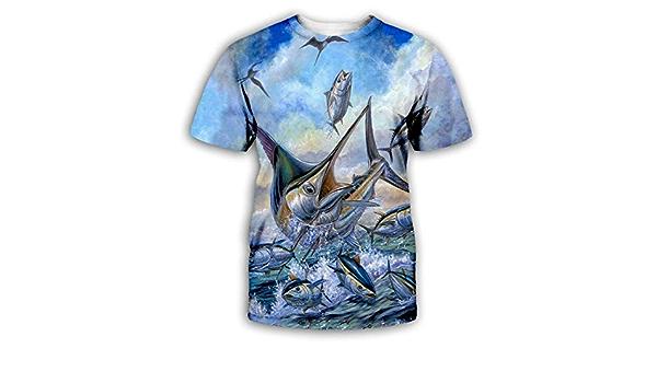 Domo poisson T-shirt motif imprimé Funshirt Design Print