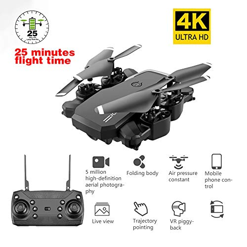 MROSW LF609 Drone 4K HD con La Cámara WiFi Me Sigue Quadcopter FPV Profesionales Drone Batería De Larga Duración Juguete para Los Niños
