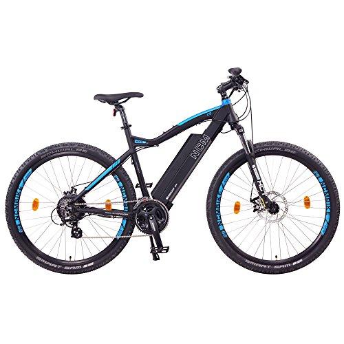 """NCM Moscow Bicicleta eléctrica de montaña, 250W, Batería 48V 13Ah 624Wh (Negro 29"""")"""
