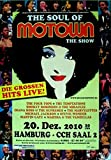 Motown The Show – 2010 – Póster – Jackson – Temptations – Gaye – Wonder – HH