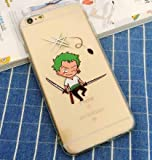 Coquefone Coque iPhone 5/5S Se Luffy One Piece Roronoa Zoro