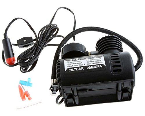 SaySure - CPortable Car/Auto 12V Electric Air Compressor/Tire Inflator 300PSI