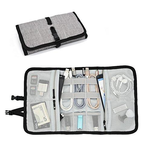 Patu Elektronische Fall-Portable Home und Travel Organizer für Tablets (iPad Air & Mini), E \'Gadget Zubehör (Festplatte, Power Bank, Adapter, Kabel, Speicherkarte)