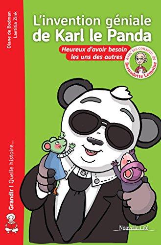 L'invention gniale de Karl le Panda-nvelle edt