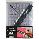 Alumicolor 12-inch Cut & Measure Set Black