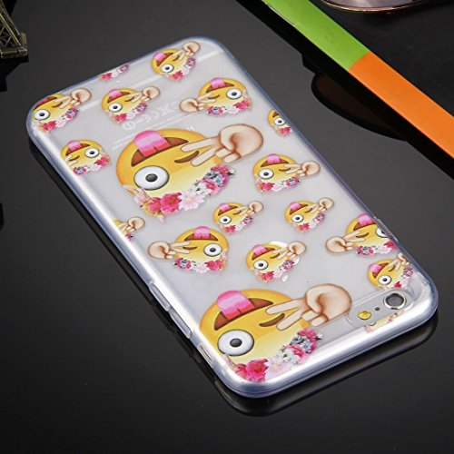 Phone case & Hülle Für iPhone 6 Plus / 6s Plus, QQ Expression Pack TPU Schutzhülle ( SKU : IP6P1404C ) IP6P1404D