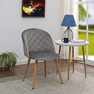 Perfekt für die Küche: Ein Esszimmer Samt Stuhl | Samtmöbel