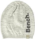 Bench Mädchen Mütze Beanie, Grau (Grey Marl Ma1023), M (Herstellergröße: M-L)