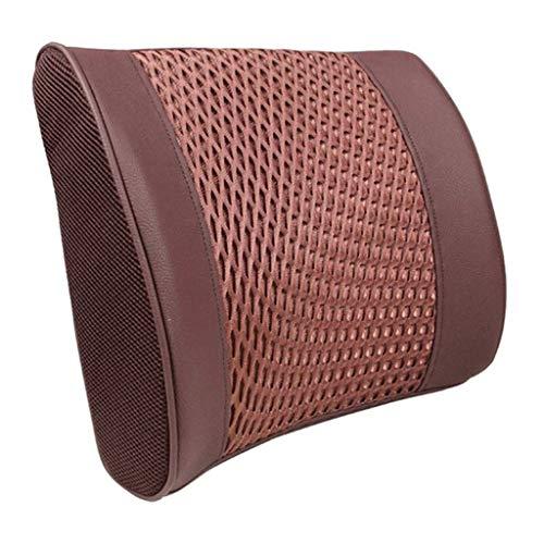 TWDYC Cuscino Lombare-Car Lombare Lombare del Cuscino Ammortizzatore Posteriore Lombare Cuscino Seggiolino Auto Memory Cotone Poggiatest