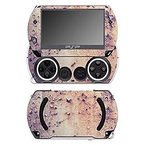 Disagu SF-14232_1044 Design Folie für Sony PSP Go – Motiv Rost 01″ transparent