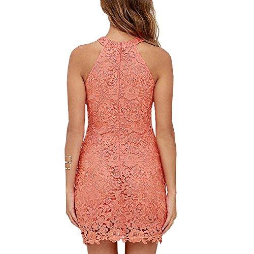 Moresave - Robe - Femme Wassermelone Rot