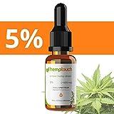 Olio di canapa gocce 5% - 500mg hemp oil drops, 10 ml gocce di canapa Full Spectrum - Estrazione di...