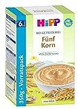 Hipp Bio-Getreide-Brei 5-Korn, 3er Pack (3 x 350g)