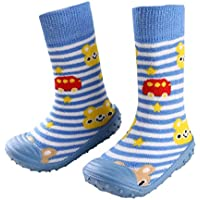 leap frogFloor Sock Slipper - Pantofole a Stivaletto Bimbe'