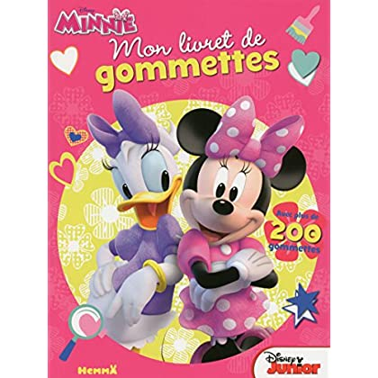 Disney Minnie Junior - Mon livret de gommettes