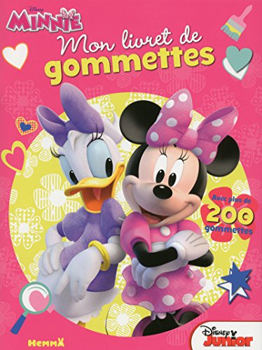 Disney Minnie Junior - Mon livret de gommettes