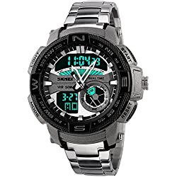 Skmei Analog-Digital Multicolor Dial Men's Watch -HMWA05S070C0
